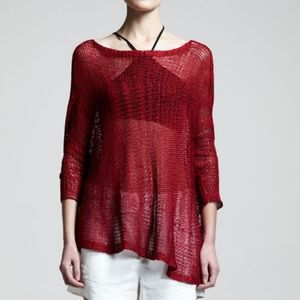 Helmut Lang Asymetric Marled Pullover size P